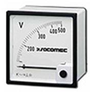 Аналоговые вольтметры переменного и постоянного тока Socomec фото