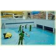 Чистка бассейнов фото