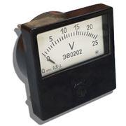 Вольтметр ЭВ 0201 0-500 В фото