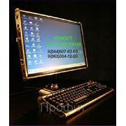 Установка Windows, других копьютерных программ; фото
