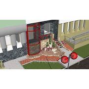 Проект реконструкции встроенных помещений под компьютерный клуб фото