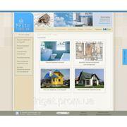 Сайт ремонтно-строительной компании фото