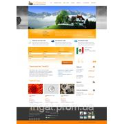 Готовое решение: Сайт турагенства фото