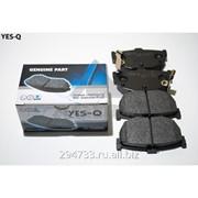 Колодка дискового тормоза задняя Yes-Q Ceremic, кросс_номер 5821528A00 фото
