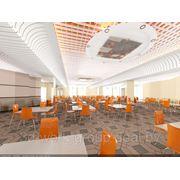 Разработка и дизайн интерьеров общественных зданий фото