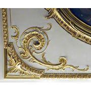 Позолота лепного декора, предметов интерьера. Золочение сусальным золотом. Эксклюзив. фото
