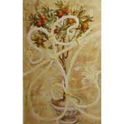 Роспись стен, декоративная штукатурка, декоративный рельеф, лепнина фото
