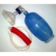 Аппарат в сборе с клапаном пациента и впускным клапаном к АДР-1200 мешок типа АМБУ фото
