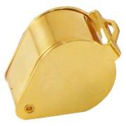 Лупа золотистая 10х, 18 мм (капля), арт 164B фото