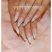 Свадебные прическа макияж ногти фото