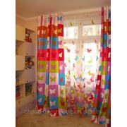 Пошив штор для детской фото