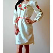 Сукня вишита хрестиком код: ЖС 09 фото