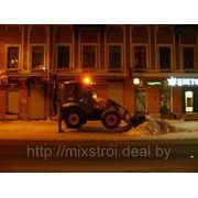 Уборка снега техникой.+375298117973 фото