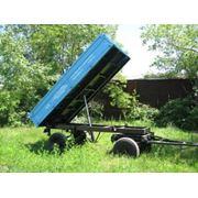 Тракторный прицеп 2ПТС-4 фото