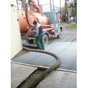 Очистка резервуаров и стоков автомоек фото