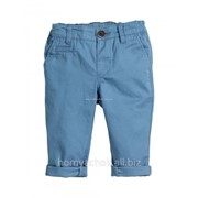 Брюки чинос (голубые) H&M 6-9 мес (74)