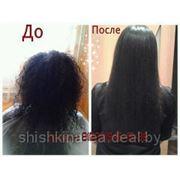 Бразильское кератиновое выпрямление волос фото