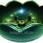 Термо-чаша, вазон для цветов уличный пластиковый lora-park 600 фото
