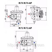 Регулятор давления газа Tartarini R/72 фото