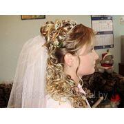 Свадебная прическа 8 фото
