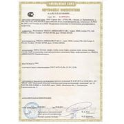 Сертифиакт соответствия ТС фото
