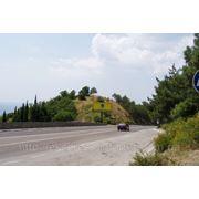 Бигборды трасса Ялта-Севастополь25км+500 м поворот на Оползневоена Севастополь фото