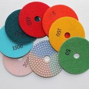 Алмазные гибкие диски для полировки фото