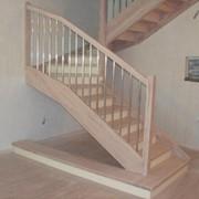 Лестница деревянная модель 2 05.01.2015