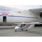 Самолет Lilienthal X-32-912 Bekas UT (Бекас УТ ) Приборы контроля работы двигателя: указатель температуры охлаждающей жидкости тахометр топливопрозрачная мерная трубка учебно-тренеровочный пр-во Авиационная фирма Лилиенталь Lilienthal (Украина) фото
