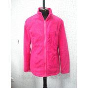 Байка флисовая розовая женская. фото