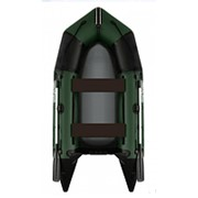 Надувная гребная лодка Aquastar зеленая C-330 фото