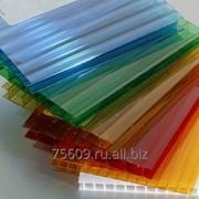 Сотовый поликарбонат 4 мм цветной фото