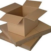 Ящики и коробки из картона фото