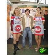 Пошив одежды для рекламных акций, промоформа фото