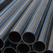 Трубы ПЭ для водо- газоснабжения ПЭ 100 различное давление соединительные части к трубам фото
