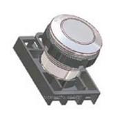 Кнопка антивандальная Promet NEF22-F для отверстий диаметром 22,5 мм фото