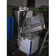 Автомат фасовочный в тубу АФТЛ для фасовки жидких и пастообразных продуктов фото