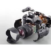 Ремонт фотоаппаратов, объективов, вспышек, студийного света фото