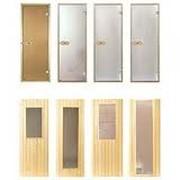 Двери для сауны фото