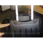РЕМОНТ выдвижной системы на чемодане фото