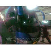 Ремонт лобового стекла на грузовых автомобилях в Донецке фото