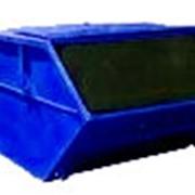 Бункер-накопитель для мусора закрытый 8 м3 фото
