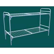 Кровать металлическая двухъярусная С-С2 фото