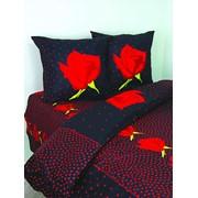 """Комплект постельного белья """"Роза"""", модель 7010-1 фото"""
