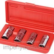 Набор шпильковёртов, 6, 8, 10, 12 мм, эксцентриковые, 4 предмета МАСТАК 109-20004 фото