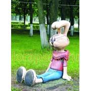 Фигура садово-парковая Кролик фото