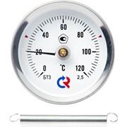 Термометр биметаллический накладной фото