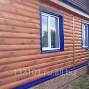 Металлический сайдинг «Блок-хаус» фото