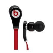 Tour Black Beats by Dr. Dre наушники внутриканальные проводные, Hi-Fi, без креплений, Чёрно-красный фото
