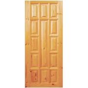 Двери филенчатые из сосны ДОР-13 (2070х1270) Сорт 1 фото